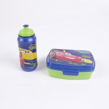 Dětský svačinový set krabička s lahví