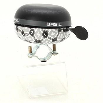 Zvonek Basil big bell černý a bílý
