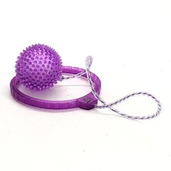 Gumový míček Eddy Toys fialový