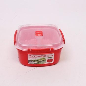 Speciální box Sistema Microwave Steamer
