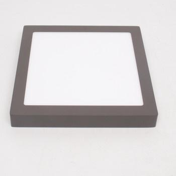 LED svítidlo Eglo s černým okrajem