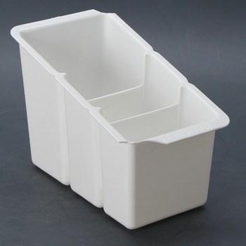 Plastový odkapávač Delfinware Spare bílý