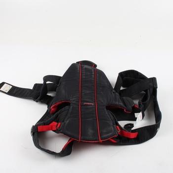 Dětské nosítko BabyBjörn černo červená