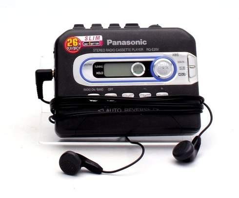 Kazetový přehrávač Panasonic RQ-E20V - bazar   OdKarla.cz