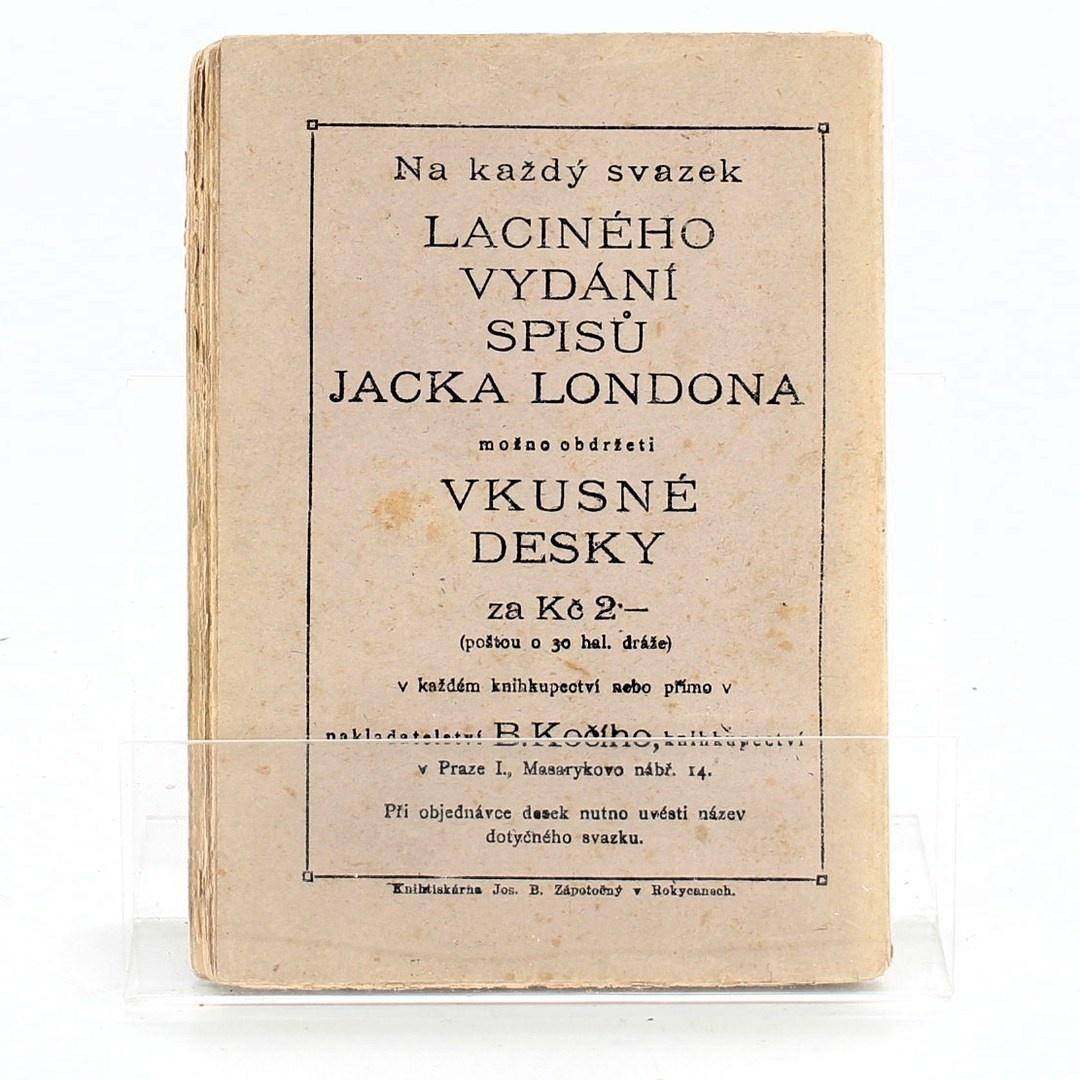 Laciné vydání spusů Jack Londona Děti severu