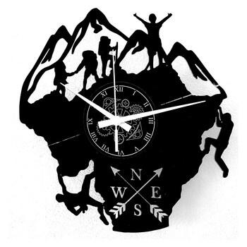 Nástěnné hodiny Instant Karma Clocks, černé