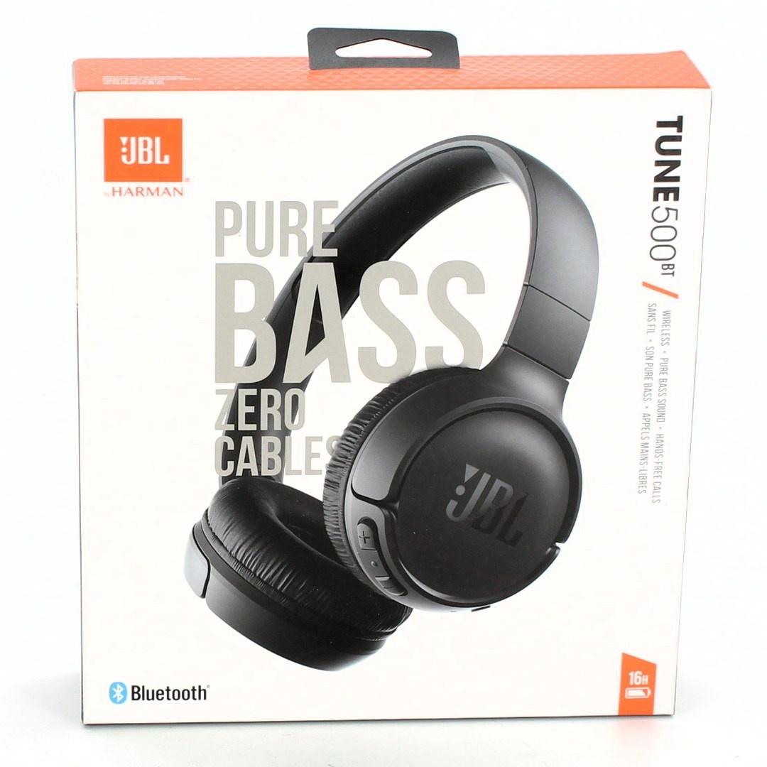 Bezdrátová sluchátka JBL Tune 500BT černá