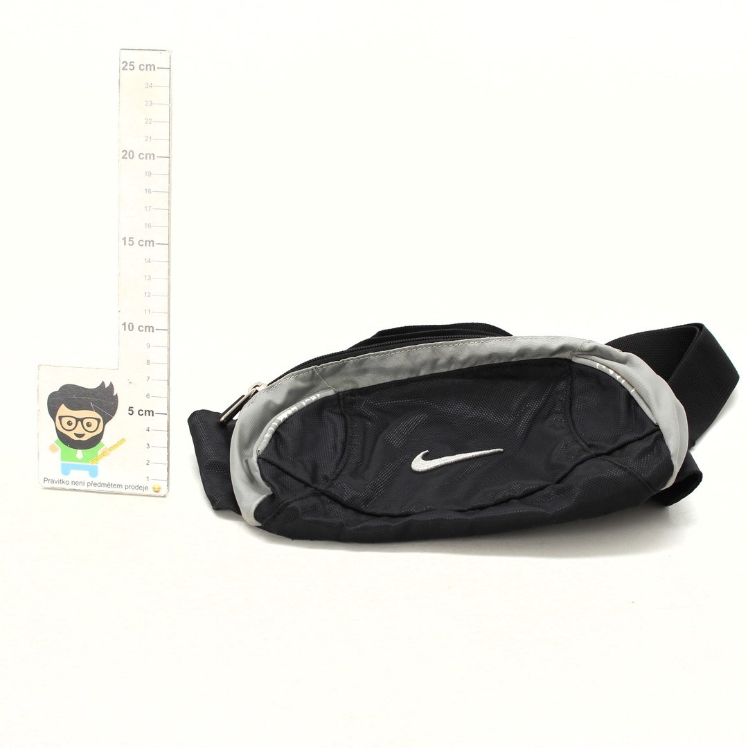 Ledvinka Nike černo - šedá
