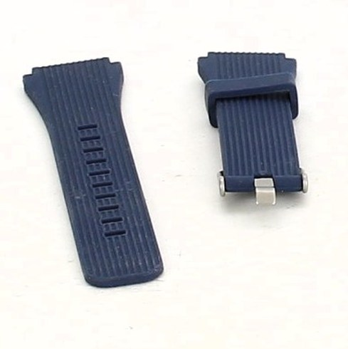 Řemínek k hodinkám tmavomodrý silikonový