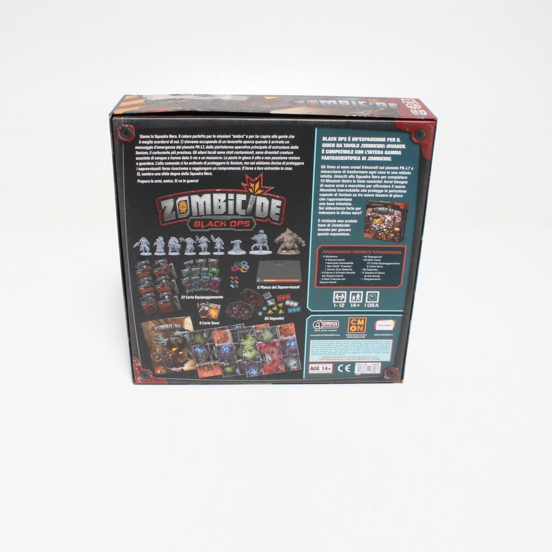 Dětská stolní hra Gilotina Zombicide OPS