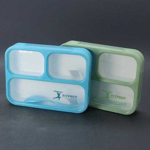 Sada obědových boxů Fitprep Bento