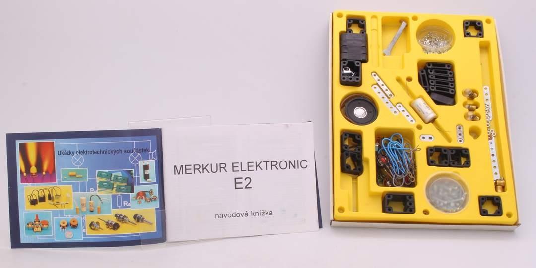 Konstrukční stavebnice Merkur Elektronic E2