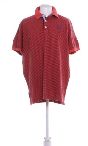 0d670c9bc56 Pánské polo tričko Lerros červené s pruhy - bazar