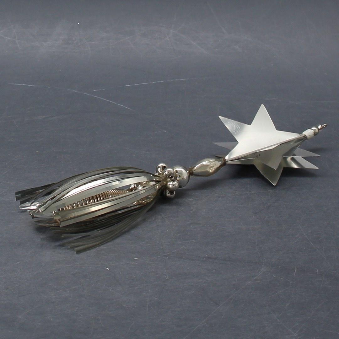 Vánoční hvězda stříbrná