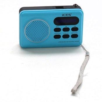 Rádio Ices IMPR-112 Blue modré