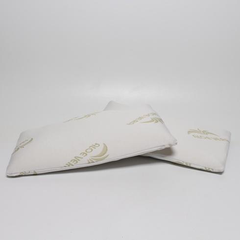 Polštář aloe vera Baldiflex bílý, 2 ks