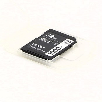 SDHC karta Lexar Professional 1000x 32 GB