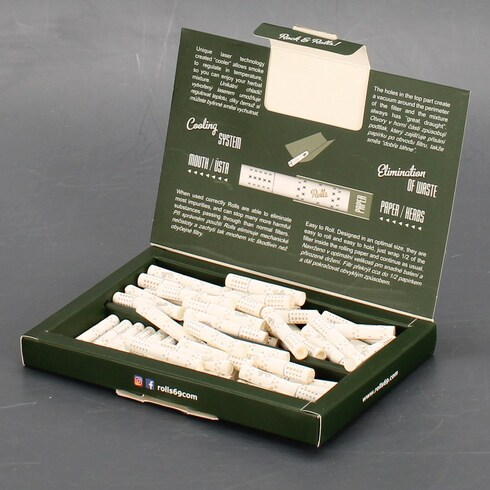 Cigaretové filtry Rolls Smart filtres 80 ks