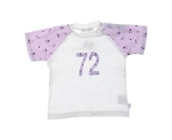 Dívčí tričko Mexx bílo fialové