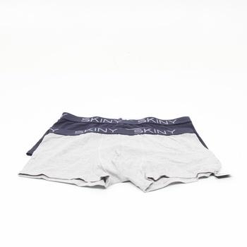 Pánské boxerky Skiny černé a bílé