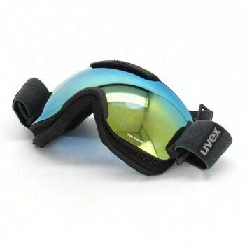 Lyžařské brýle černá, oranžová, modrá UVEX