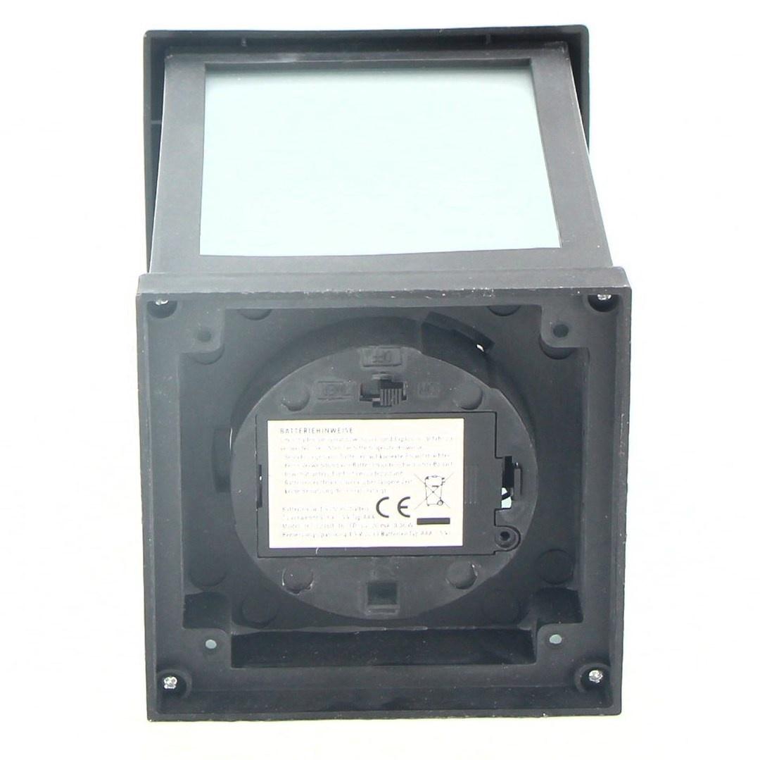 Černá LED Lucerna Idena na baterie