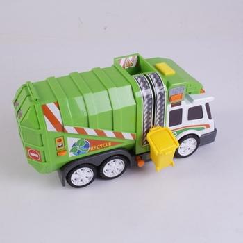 Popelářské auto Dickie Garbage truck recycle