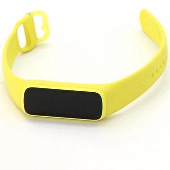 Chytrý náramek Samsung Galaxy Fit e žlutý