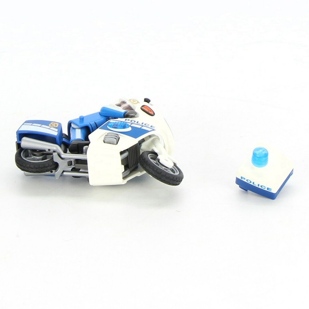 Stavebnice Playmobil Police Bike 6923
