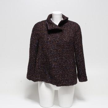 Dámský kabátek Sisley hnědý 38