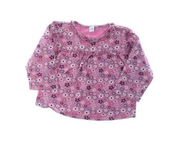 Kojenecké tričko TU růžové s potiskem