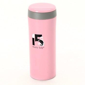 Růžová termoska značky Mary Kay