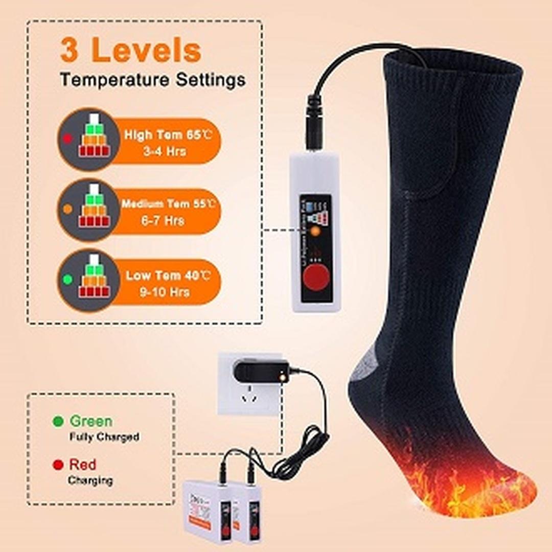 Vyhřívané ponožky Etship ES01
