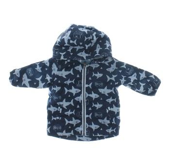 Kojenecká bunda modrá se žraloky F&F