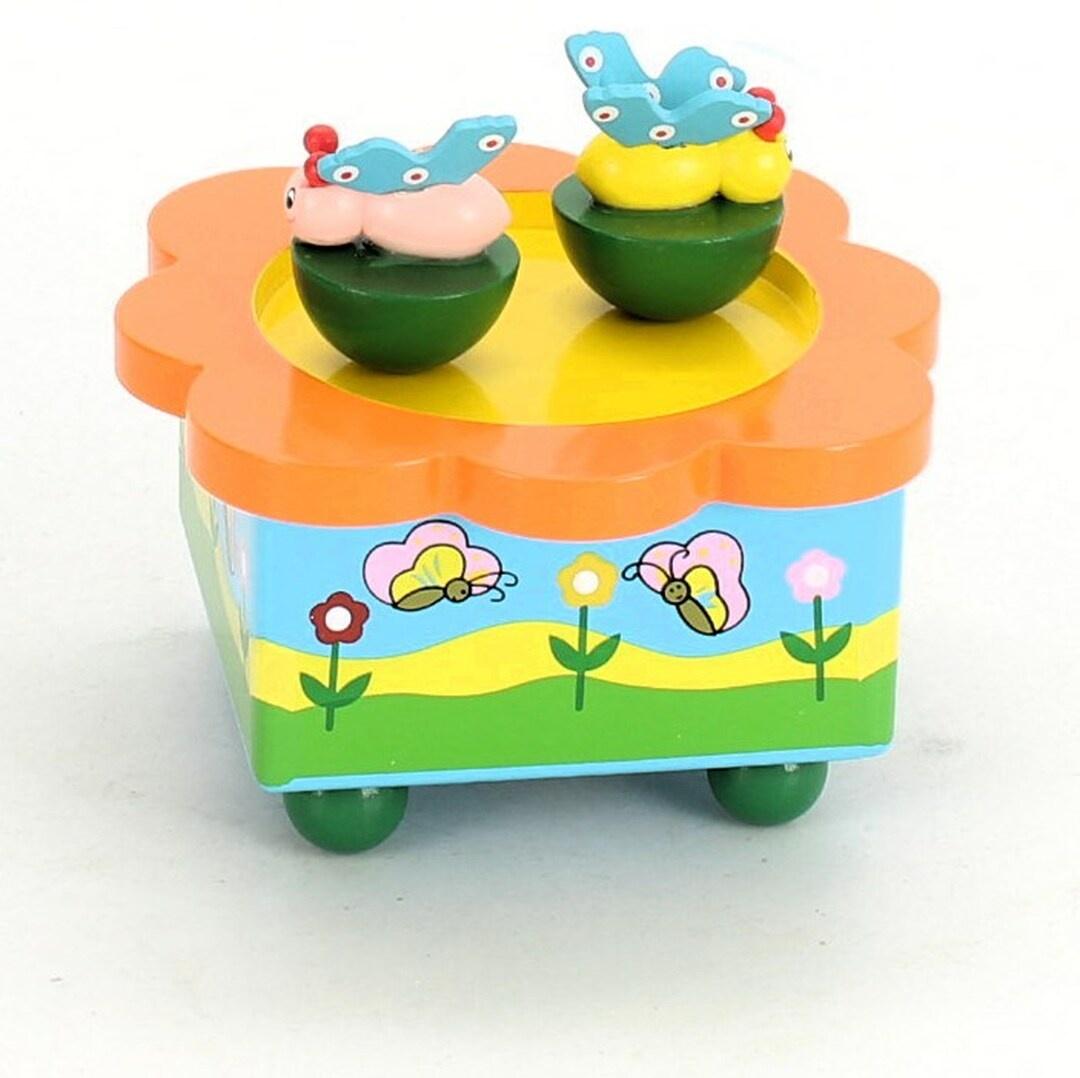Hrací krabička Spieluhrenwelt tančící motýli