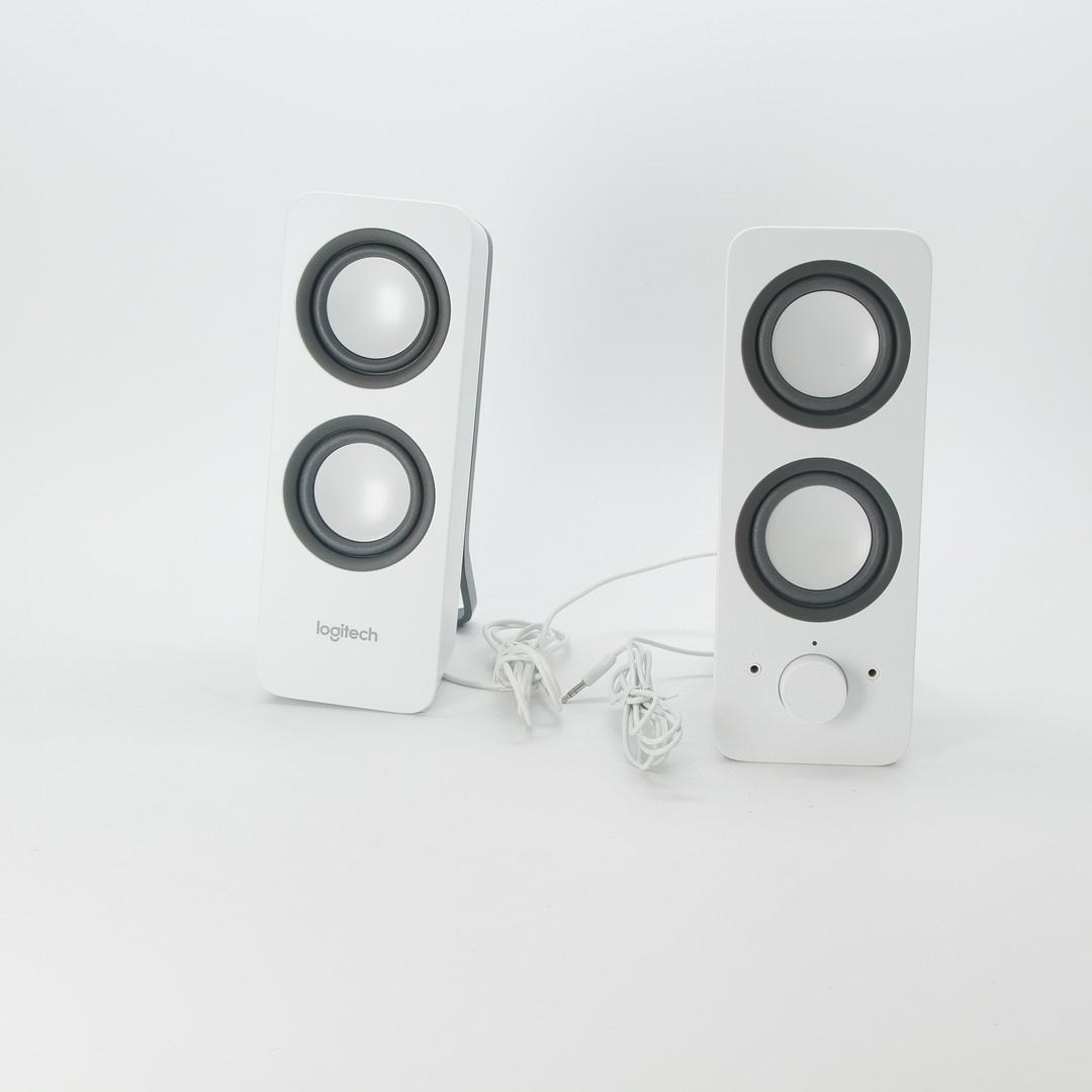 Reproduktory Logitech Z200 2.0 bílá