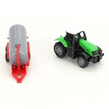 Plastový traktor GearBox s cisternou