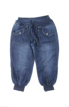 Dámské džínové kalhoty tmavě modré