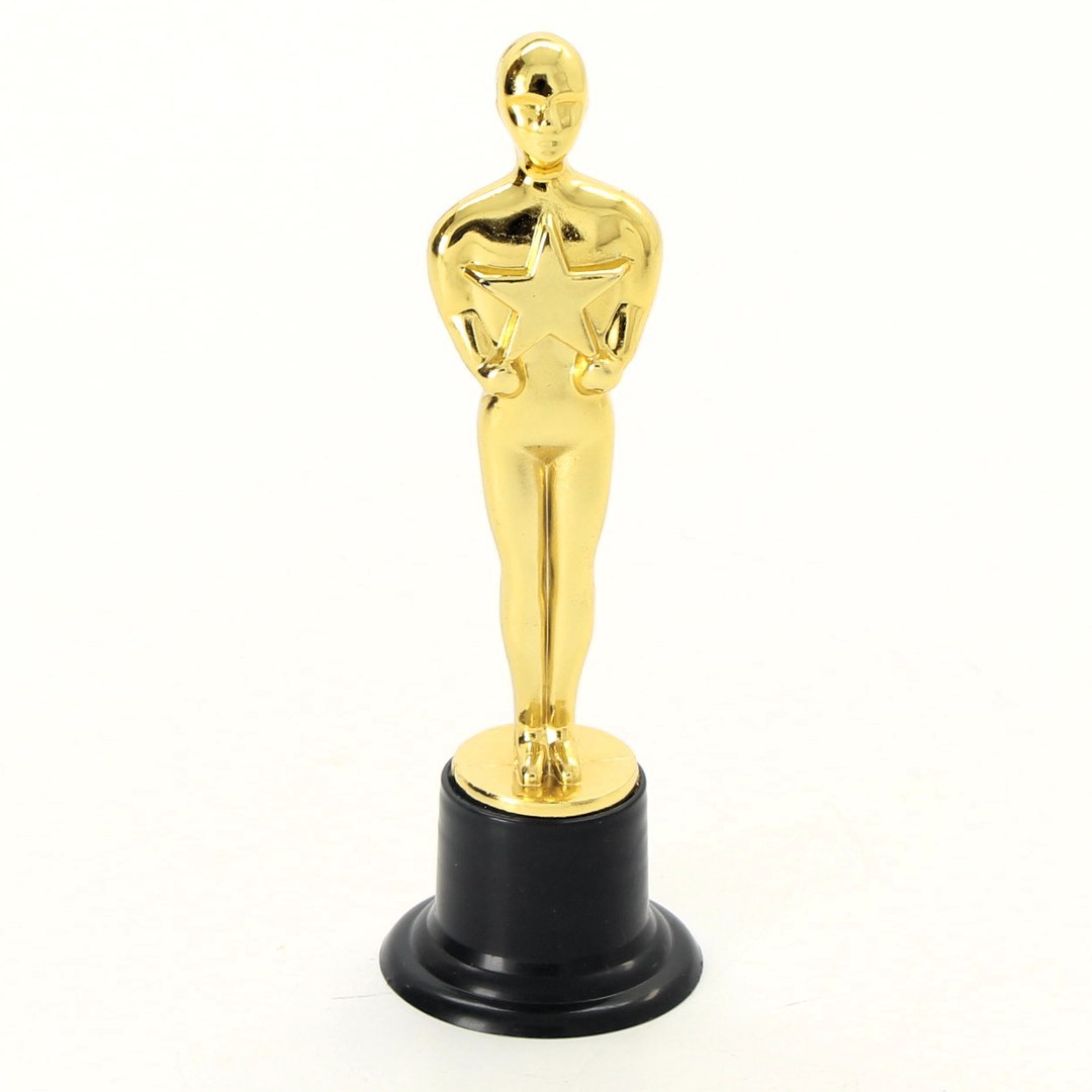 Zlatá socha NUOBESTY Oscar