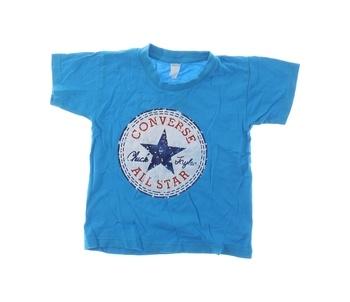 Dětské tričko Converse All Star modré