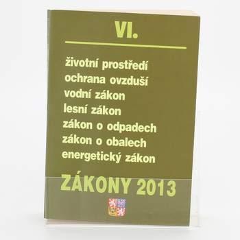 Zákony VI/2013, životní prostředí...