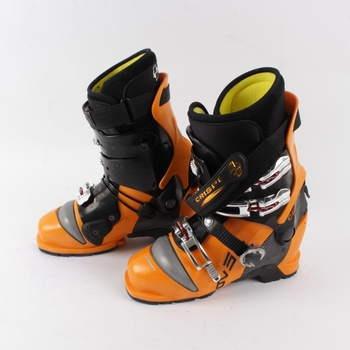 Lyžařské boty Crispi oranžové