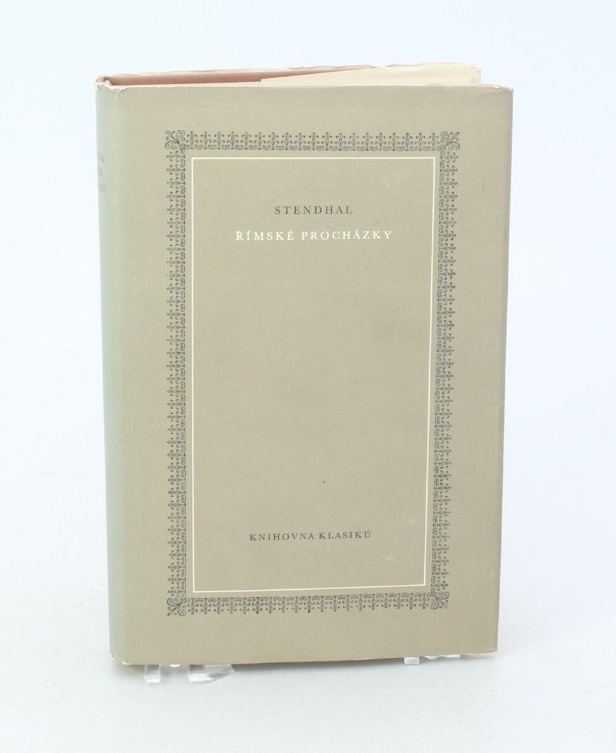 Kniha Stendhal: Římské procházky