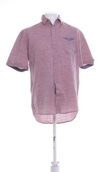 Pánská košile Tom Tailor společenská růžová