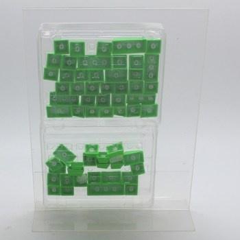 Náhradní klávesy Razer PBT zelené