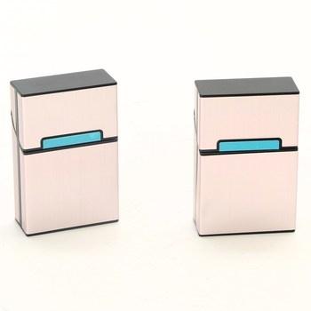 Krabička na cigarety Elander Rose Gold 2 ks