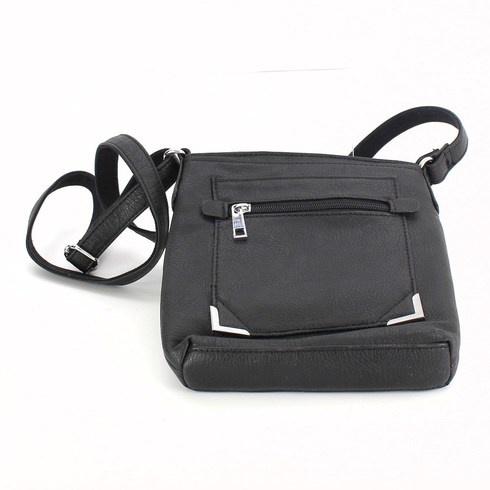 Dámská kabelka přes rameno, černá
