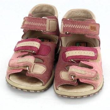 Dětské sandále Fare růžové barvy