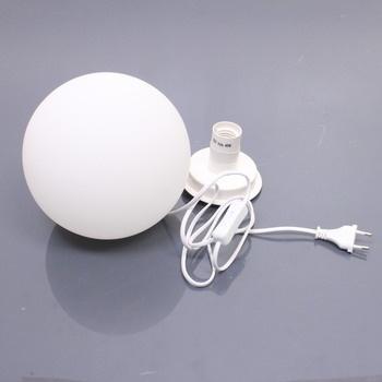 Stolní lampa Wofi POINT bílá