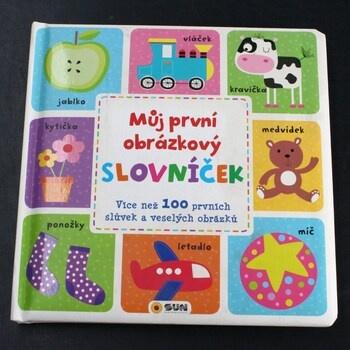 Dětská knížka Můj první obrázkový slovníček